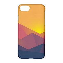 Image Sunset Landscape Graphics Apple Iphone 7 Hardshell Case