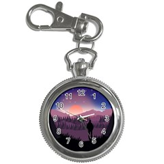 Dusk Sunset Dawn Sky Evening Key Chain Watches