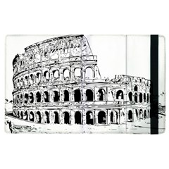 Line Art Architecture Apple Ipad 2 Flip Case