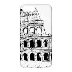 Line Art Architecture Apple Iphone 8 Plus Hardshell Case