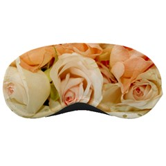 Roses Plate Romantic Blossom Bloom Sleeping Masks by Samandel