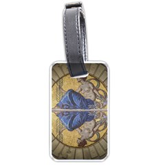 Mosaic Painting Glass Decoration Luggage Tags (one Side)