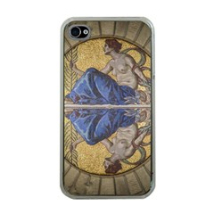 Mosaic Painting Glass Decoration Apple Iphone 4 Case (clear)