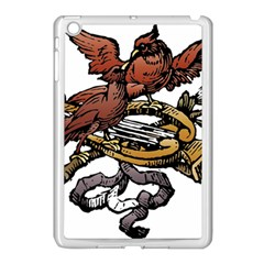 Transparent Background Bird Apple Ipad Mini Case (white) by Samandel