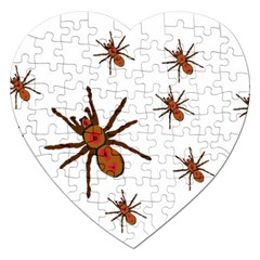 Nature Insect Natural Wildlife Jigsaw Puzzle (heart) by Samandel