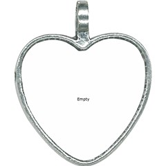Books Library Heart Necklace by Sapixe