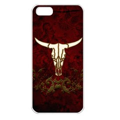 Awesome Cow Skeleton Apple Iphone 5 Seamless Case (white)