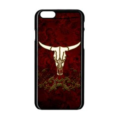 Awesome Cow Skeleton Apple Iphone 6/6s Black Enamel Case by FantasyWorld7