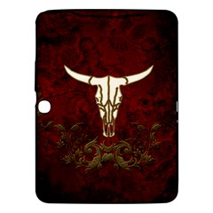 Awesome Cow Skeleton Samsung Galaxy Tab 3 (10 1 ) P5200 Hardshell Case