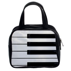 Keybord Piano Classic Handbag (two Sides)