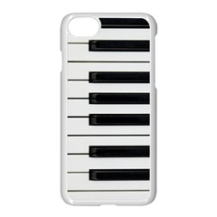 Keybord Piano Apple Iphone 8 Seamless Case (white)