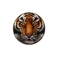 The Tiger Face Hat Clip Ball Marker (4 Pack)