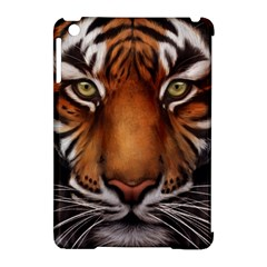 The Tiger Face Apple Ipad Mini Hardshell Case (compatible With Smart Cover)