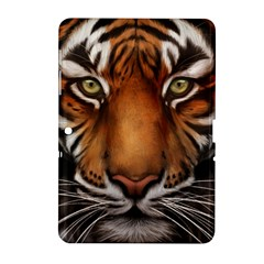 The Tiger Face Samsung Galaxy Tab 2 (10 1 ) P5100 Hardshell Case