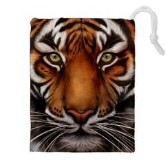 The Tiger Face Drawstring Pouch (xxl)
