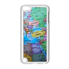 Globe World Map Maps Europe Apple Ipod Touch 5 Case (white)