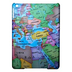 Globe World Map Maps Europe Ipad Air Hardshell Cases