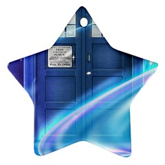 Tardis Space Ornament (star)