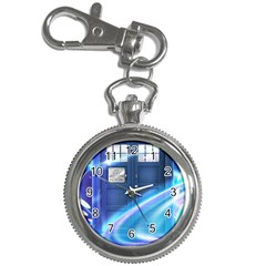 Tardis Space Key Chain Watches