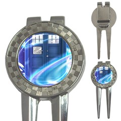 Tardis Space 3 In 1 Golf Divots