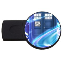 Tardis Space Usb Flash Drive Round (2 Gb)