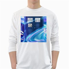 Tardis Space Long Sleeve T Shirt