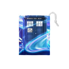 Tardis Space Drawstring Pouch (small)