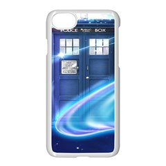 Tardis Space Apple Iphone 7 Seamless Case (white)