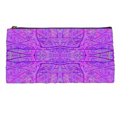 Hot Pink And Purple Abstract Branch Pattern Pencil Cases by myrubiogarden