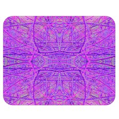 Hot Pink And Purple Abstract Branch Pattern Double Sided Flano Blanket (medium)  by myrubiogarden