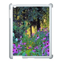 Hazy Morning Sunrise In My Rubio Garden Apple Ipad 3/4 Case (white) by myrubiogarden