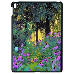 Hazy Morning Sunrise In My Rubio Garden Apple Ipad Pro 9 7   Black Seamless Case