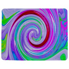 Groovy Abstract Red Swirl On Purple And Pink Jigsaw Puzzle Photo Stand (rectangular) by myrubiogarden