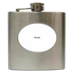 Background Pattern Structure Hip Flask (6 Oz)