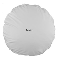 Bloody Splash Large 18  Premium Round Cushions