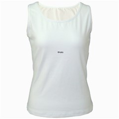 Maple Tree Nice Women s White Tank Top by Sapixe