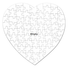 Futuristic Gaphic Art   Jigsaw Puzzle (heart) by Sapixe