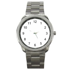 Colour Cloth Sport Metal Watch by Sapixe