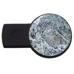Marble Pattern Usb Flash Drive Round (2 Gb)