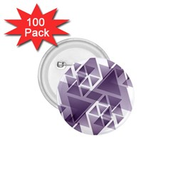 Geometry Triangle Abstract 1 75  Buttons (100 Pack)