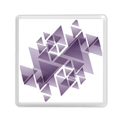 Geometry Triangle Abstract Memory Card Reader (square)