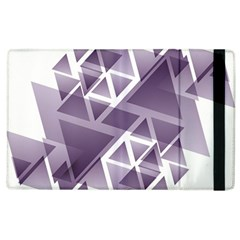 Geometry Triangle Abstract Apple Ipad 3/4 Flip Case by Alisyart