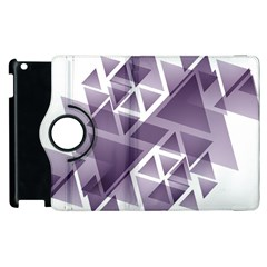 Geometry Triangle Abstract Apple Ipad 3/4 Flip 360 Case by Alisyart
