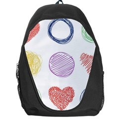 Geometry Euclidean Vector Backpack Bag by Alisyart
