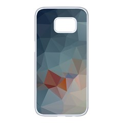 Triangle Geometry Trigonometry Samsung Galaxy S7 Edge White Seamless Case