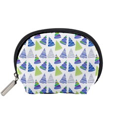 Christmas Pattern Background Accessory Pouch (small) by Jojostore