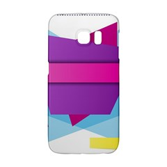 Geometric Shape Samsung Galaxy S6 Edge Hardshell Case by Jojostore