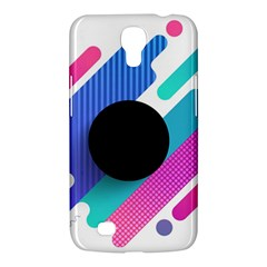 Cool Geometric Combination Of Decorative Circular Vector Background Samsung Galaxy Mega 6 3  I9200 Hardshell Case