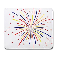 Graphic Fireworks Decorative Large Mousepads