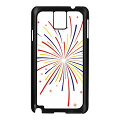 Graphic Fireworks Decorative Samsung Galaxy Note 3 N9005 Case (black) by AnjaniArt
